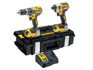 DEWALT DEWDCK266D2B - DCK266D2B XR Brushless Twin Pack 18 Volt 2 x 2.0Ah Bluetooth Li-Ion