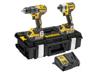DEWALT DEWDCK266P2 - DCK266P2 XR Brushless Twin Pack 18 Volt 2 x 5.0Ah Li-Ion