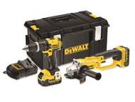 DEWALT DEWDCK286M2 - DCK286 M2 Twin Pack 18 Volt 2 x 4.0Ah Li-Ion