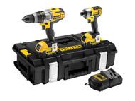DEWALT DEWDCK290M2 - DCK290M2 XRP Premium Twin Pack 18 Volt 2 x 4.0Ah Li-Ion