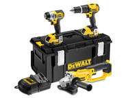 DEWALT DEWDCK381M2 - DCK381M2 XR 2 Speed 3 Piece Kit 18 Volt 2 x 4.0Ah Li-ion