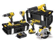 DEWALT DEWDCK591M3 - DCK591M3 XR 5 Piece Kit 18 Volt 3 x 4.0Ah Li-Ion