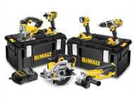 DEWALT DEWDCK692M3 - DCK692M3 Cordless 3 Speed 6 Piece Kit 18 Volt 3 x 4.0Ah Li-Ion
