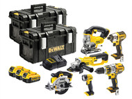 DEWALT DEWDCK694M3 - DCK694M3 Brushless 6 Piece Kit 18 Volt 3 x 4.0Ah Li-Ion