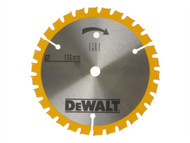 DEWALT DEWDT1201QZ - Trimsaw Blades 136 x 10mm x 24T Fine Finish Wood Cut