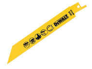 DEWALT DEWDT2346QZ - Sabre Blade Cobalt Steel Cordless Metals 3mm Max 152mm Pack of 5