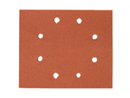 DEWALT DEWDT3015QZ - 1/4 Sheet Sanding Sheets Pre-Punched 115 x 140mm 160g (25)