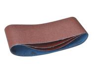 DEWALT DEWDT3664QZ - Sanding Belts 356 x 64mm x 150g (Pack of 3)