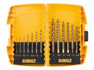 DEWALT DEWDT7920BQZ - DT7920BQZ Small Tough Case Metal Drill Set 13 Piece