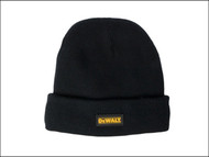 DEWALT DEWDWCKWH - DWC13001 Black Knitted Wool Hat