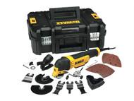 DEWALT DEWDWE315KT - DWE315KT Multi-Tool Quick Change Kit & TSTAK 300 Watt 240 Volt