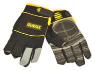 DEWALT DEWFRAMER - Fingerless Framers' Gloves Black / Yellow