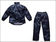 Dickies DIC10050LN - Navy Vermont Waterproof Suit - L (44-46in)