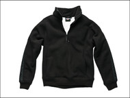 Dickies DIC89000XLB - Eisenhower Fleece Pullover Black - XL (48-50in)