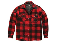 Dickies DICPADREDL - Portland Padded Shirt Red - L (44-46in)
