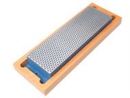 DMT DMTW8C - Diamond Whetstone 200mm Wooden Box Blue 325 Grit Coarse