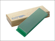 DMT DMTW8E - Diamond Whetstone 200mm Wooden Box Green 1200 Grit Extra Fine