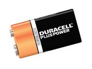 Duracell DUR9VK2P - 9v Cell Plus Power Battery Pack of 2 MN1604/6LR6