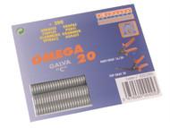 Edma EDM0425 - Galvanised Steel Hog Ring Omega 20 (200)