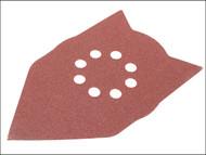 Einhell EIN4460280 - Delta Sanding Sanding Sheet Set for RT-XS28 (Pack of 20)