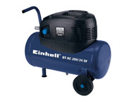Einhell EINBTAC20024 - BT-AC 200/24 Oil Free Air Compressor 24 Litre 240 Volt