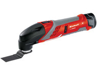 Einhell EINRTMG108LI - RT-MG Cordless Multimax Multi-Tool 10.8 Volt 2 x 1.3Ah Li-Ion