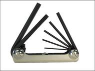 Eklind EKL20811 - Hexagon Key Fold Up Set of 8 Imperial (1/16 - 5/32in)