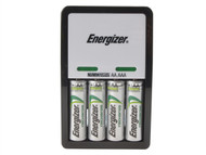 Energizer ENGCOMPAC - Compact Charger + 4 x AA 1300 mAh Batteries