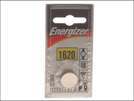 Energizer ENGCR1620 - CR1620 Coin Lithium Battery Single