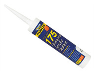 Everbuild EVB175C4 - 175 Universal Acrylic Sealant White 310ml