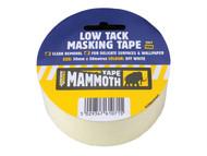 Everbuild EVB2LOWMT50 - Low Tack Masking Tape 50mm x 25m
