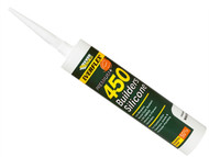 Everbuild EVB450BF - 450 Builders Silicone Sealant Buff 310ml
