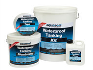 Everbuild EVBAQSKIT45 - Aquaseal Wet Room System Kit 4.5m''¢_