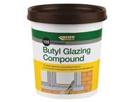 Everbuild EVBBUTGCB2KG - Butyl Glazing Compound Brown 102 2kg