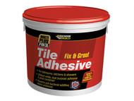 Everbuild EVBFIX02 - Fix & Grout Tile Adhesive 2.5 Litre