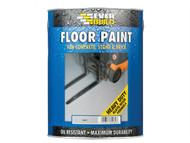 Everbuild EVBFLOORGR - Floor Paint Grey 5 Litre
