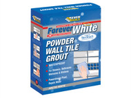 Everbuild EVBFWGROUT1 - Forever White Powder Wall Tile Grout 1.2kg