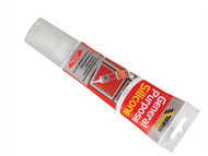 Everbuild EVBGPSESQCL - General Purpose Easi Squeeze Silicone Sealant Clear 80ml