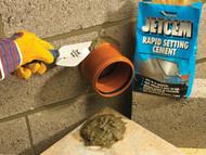 Everbuild EVBJETCEM2 - Jetcem Rapid Set Cement 12kg (6 x 2kg Packs)