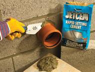 Everbuild EVBJETCEM6 - Jetcem Rapid Set Cement 6kg (Single 6kg Pack)