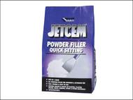 Everbuild EVBJETPOWF3 - Jetcem Quick Set Powder Filler (Single 3kg Pack)