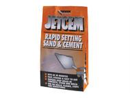 Everbuild EVBJETX2 - Jetcem Premix Sand & Cement 12kg (6 x 2kg Packs)