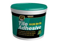 Everbuild EVBNS02 - Non Slip Tile Adhesive 2.5 Litre 3.75kg