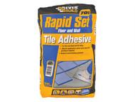 Everbuild EVBRAPID20 - Rapid Set Tile Mortar 20kg