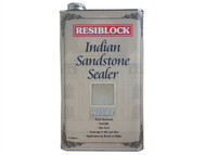 Everbuild EVBRBINDINV5 - Resiblock Indian Sandstone Sealer Invisible 5 Litre