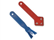 Everbuild EVBSRSTWIN - Seal Rite Strip / Smooth Out Tool Twinpack