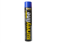 Everbuild EVBSURVEYBL - Surveyline Marker Spray Blue 700ml