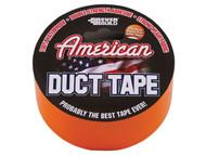 Everbuild EVBUSDTO25M - American Duct Tape Orange 50mm x 25m