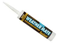 Everbuild EVBWEAWH - Weather Mate Sealant White 310ml