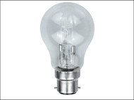 Energizer Lighting EVES4863 - GLS ECO Halogen Bulb 33 Watt (40 Watt) BC/B22 Bayonet Cap Box of 1